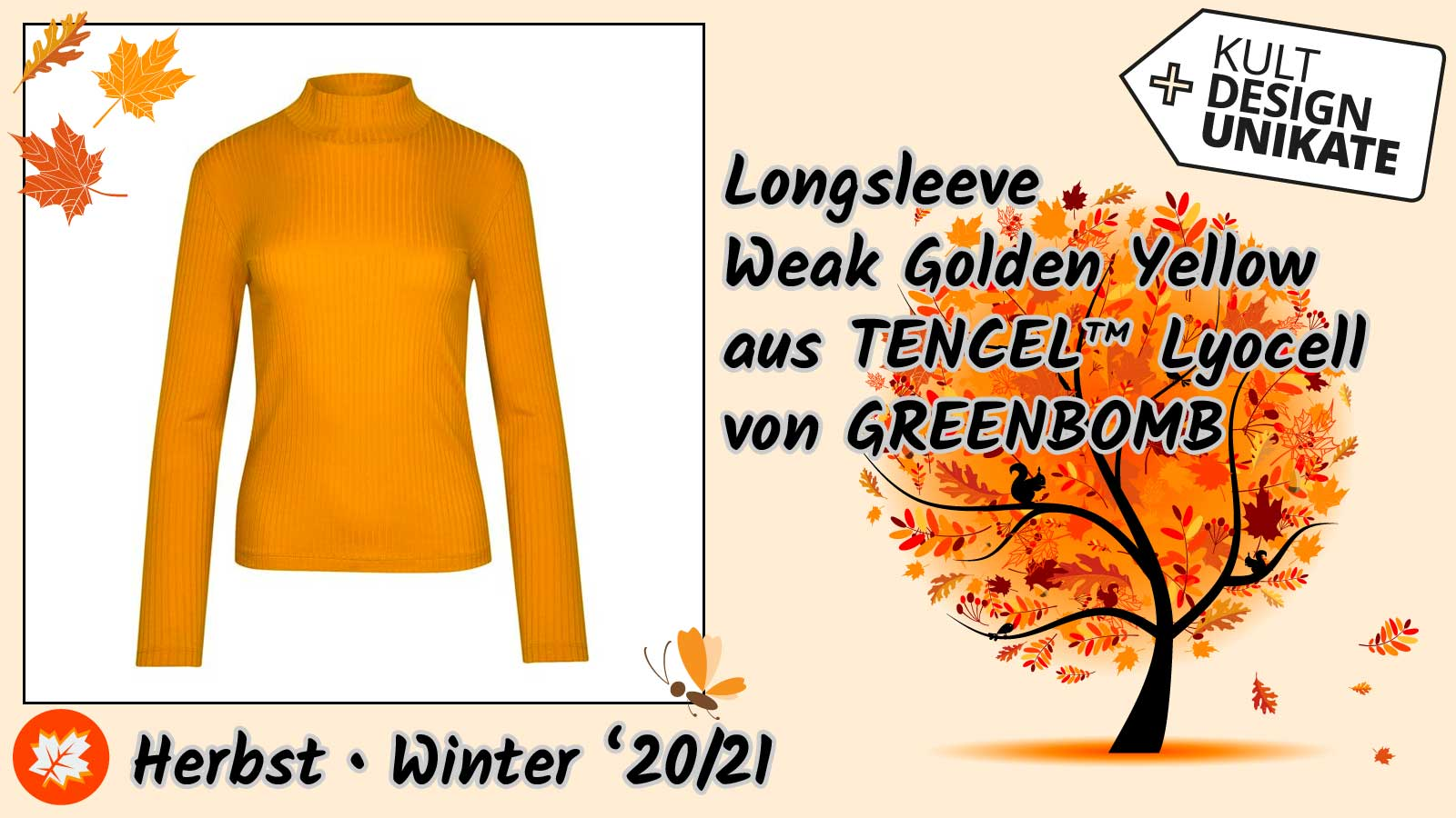 greenbomb-Longsleve-Weak-Golden-Yellow