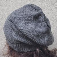 Alpaka-Mütze dunkelgrau