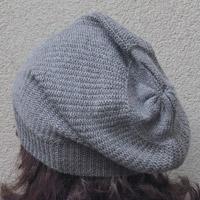 Alpaka-Mütze hellgrau