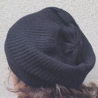 Alpaka-Mütze schwarz