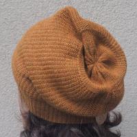 Alpaka-Mütze senfgelb meliert
