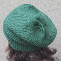 Alpaka-Mütze apfelgrün