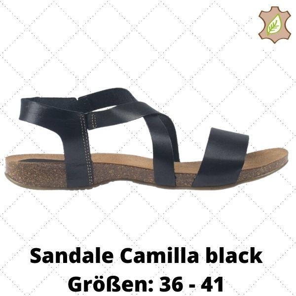Sandale Camilla black