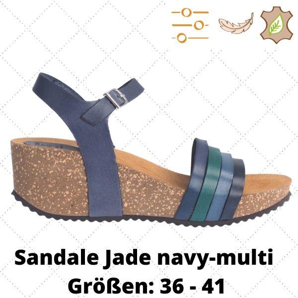 Sandale Jade navy-multi