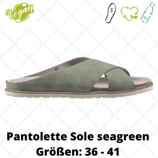 Pantolette Sole seagreen