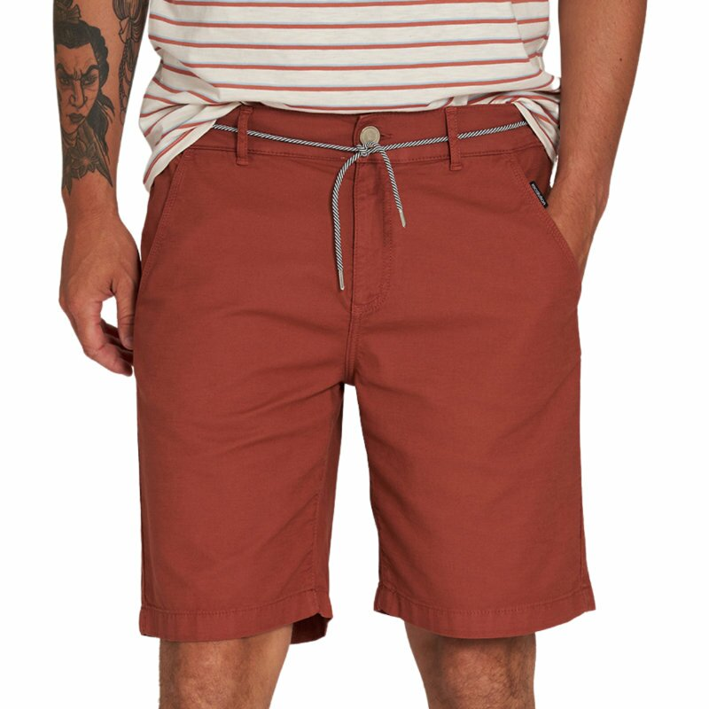 Shorts Canvas dark summer orange