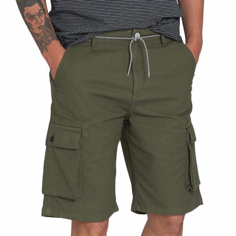 Shorts cargo dark olive