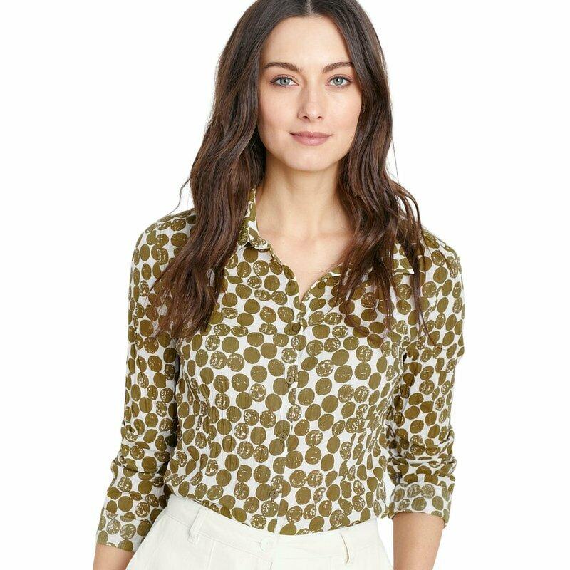 Larissa Shirt Textured Spot
