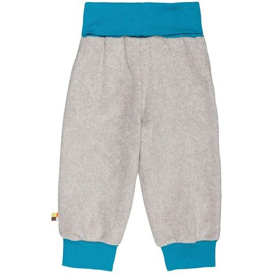 Fleece-Hose in Grau