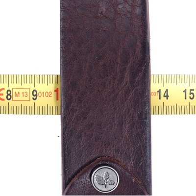 Ledergürtel Tyler dark brown