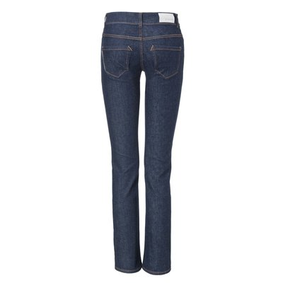 Womens Straight Jeans Raw one Wash