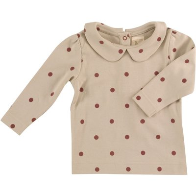 Peter Pan Collar Blouse spots