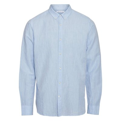Larch LS Linen Shirt Skyway