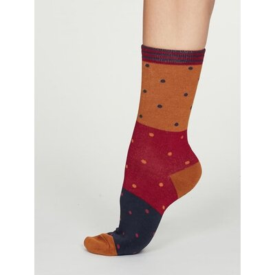 Bamboo Socks Mercy Amber