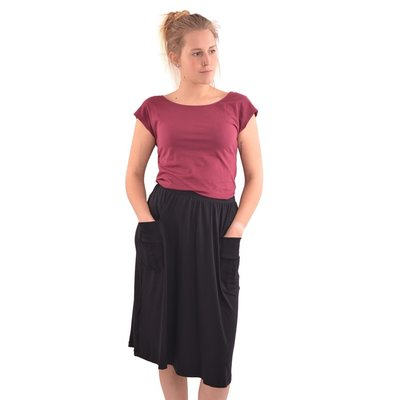 Pock Skirt black